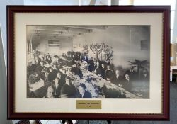Framed Photo - President Taft Luncheon