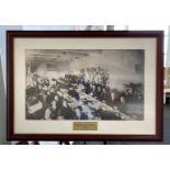 Framed Photo - President Taft Luncheon