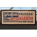 Framed Sutro Bath Poster