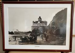 Framed Photo - Second Cliff House Built 1896