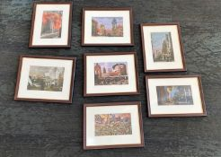 Framed Sketch Prints