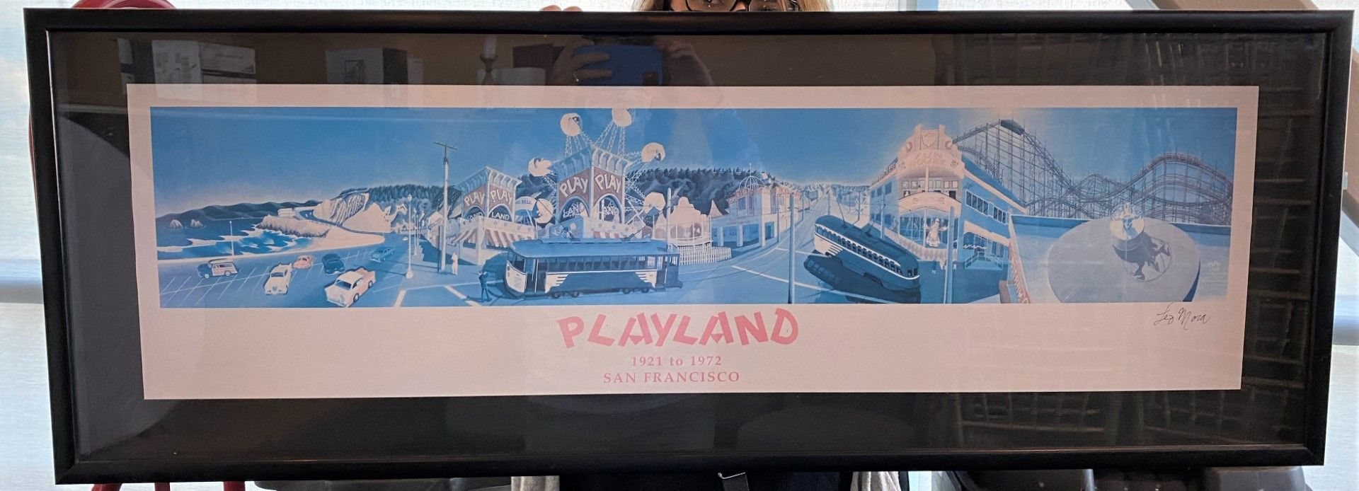 Framed Poster - Playland at the Beach (1921 - 1972)