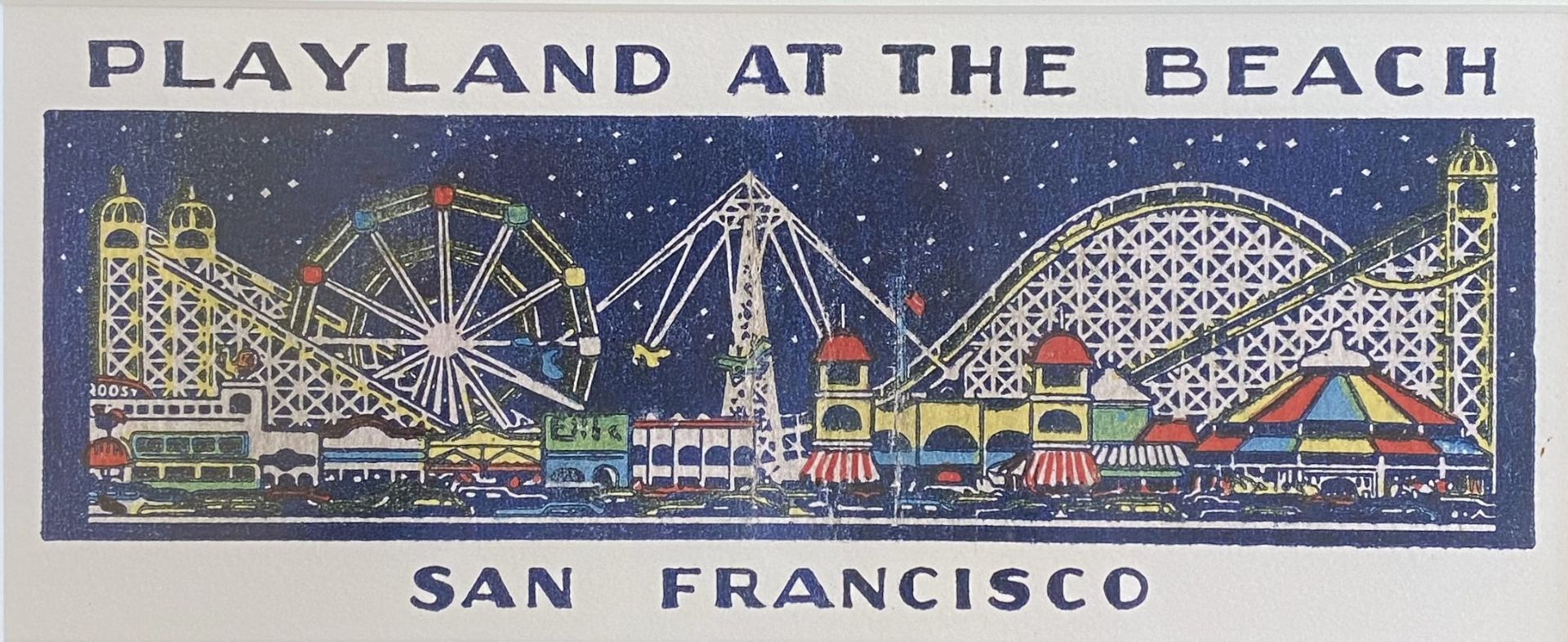 Playland at the Beach Poster - Image 2 of 2