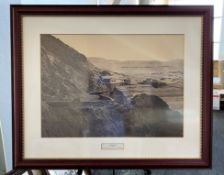 Framed Photo - The Beach House circa 1860 (Sometimes mistaken for CH)