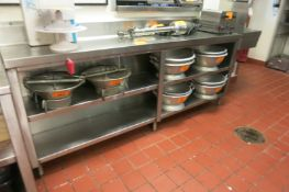 Stainless Counter Unit