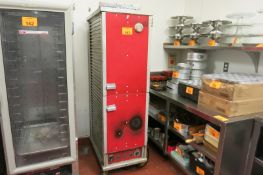 Heated Proof Cabinet