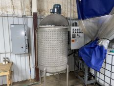 Jacketed Stainless Mix Tank