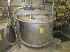 Stainless Puree Tank