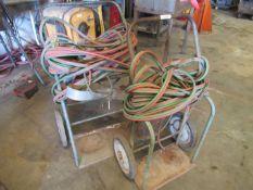 Oxy-Acet. Burning Carts