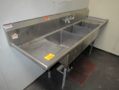 Stainless Wash Sink