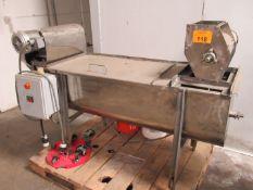 Fruit Paddle Mixer/Chopper Combo