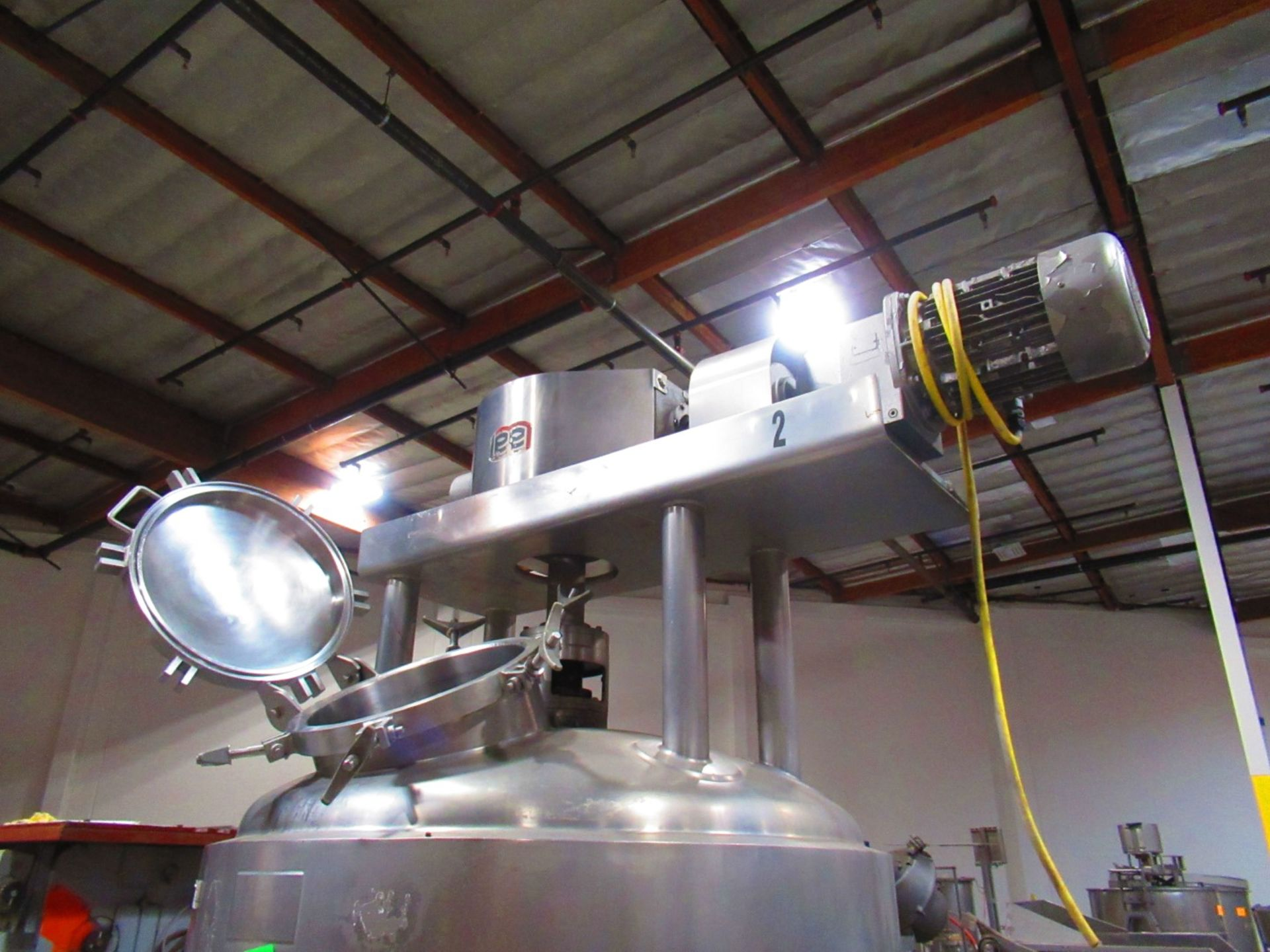 Jacketed Mix Tank - Image 6 of 7