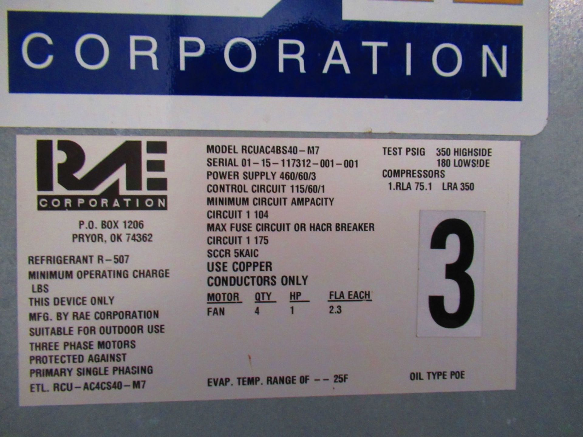 Packaged Air Compressor - Image 9 of 10