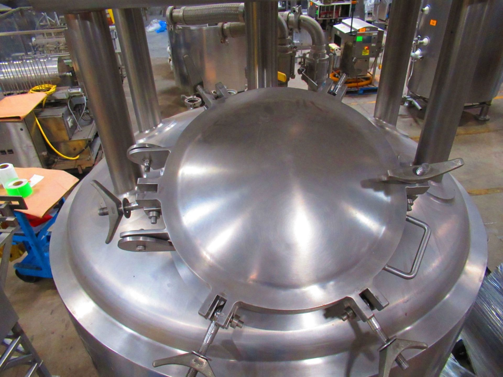 Jacketed Mix Tank - Image 3 of 6