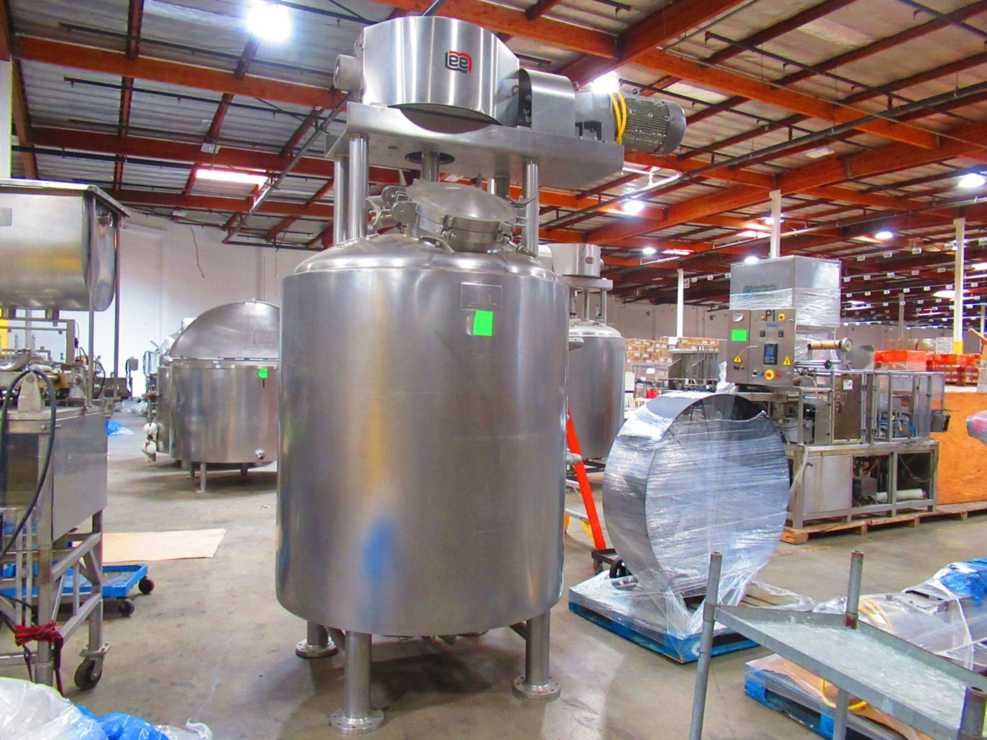Jacketed Mix Tank - Image 2 of 6