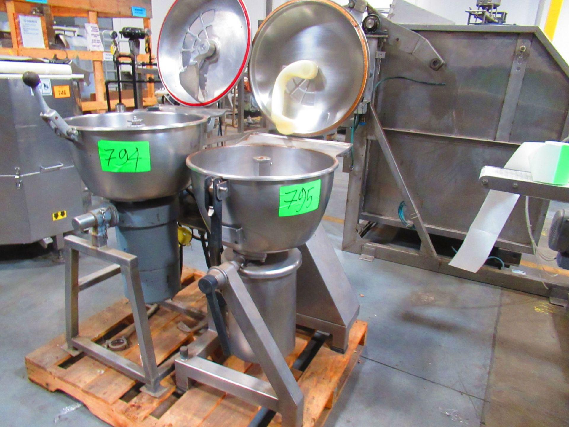Vertical Cutter/mixer