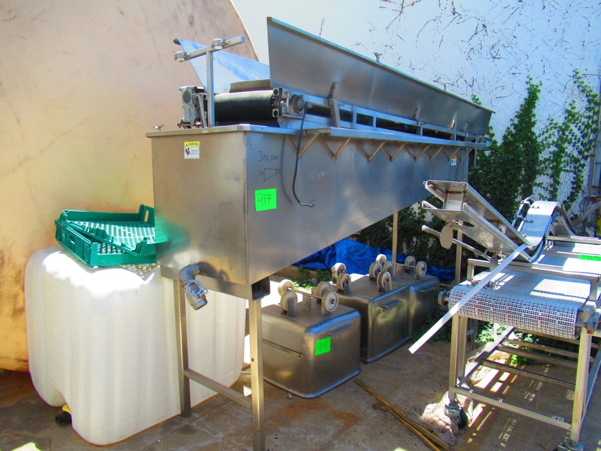 Vegetable Immersion Washer