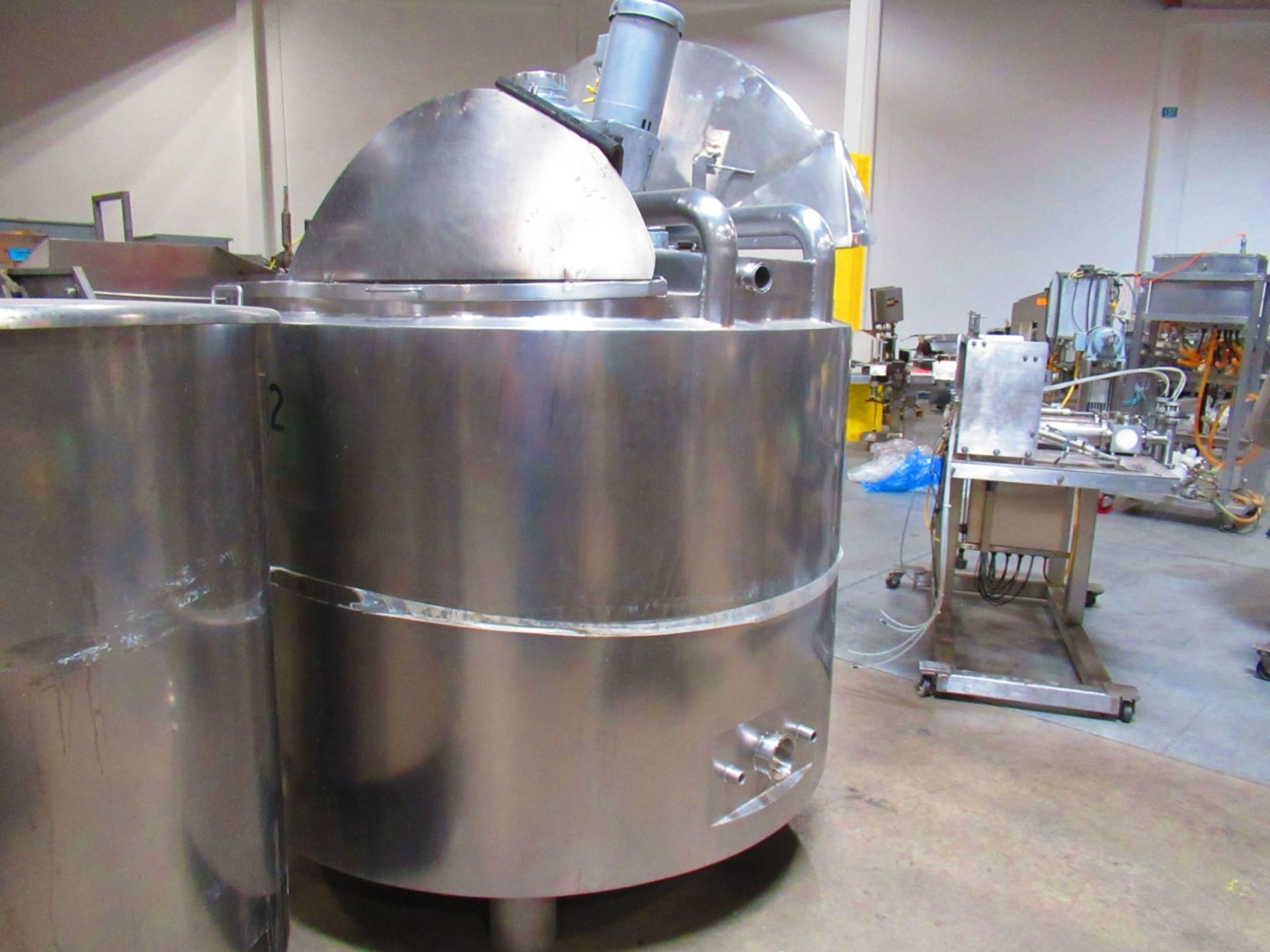 Jacketed Mix Tank - Image 5 of 5