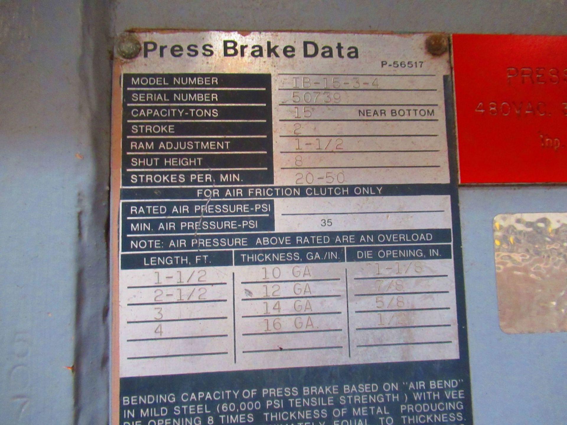 Press Brake - Image 5 of 5