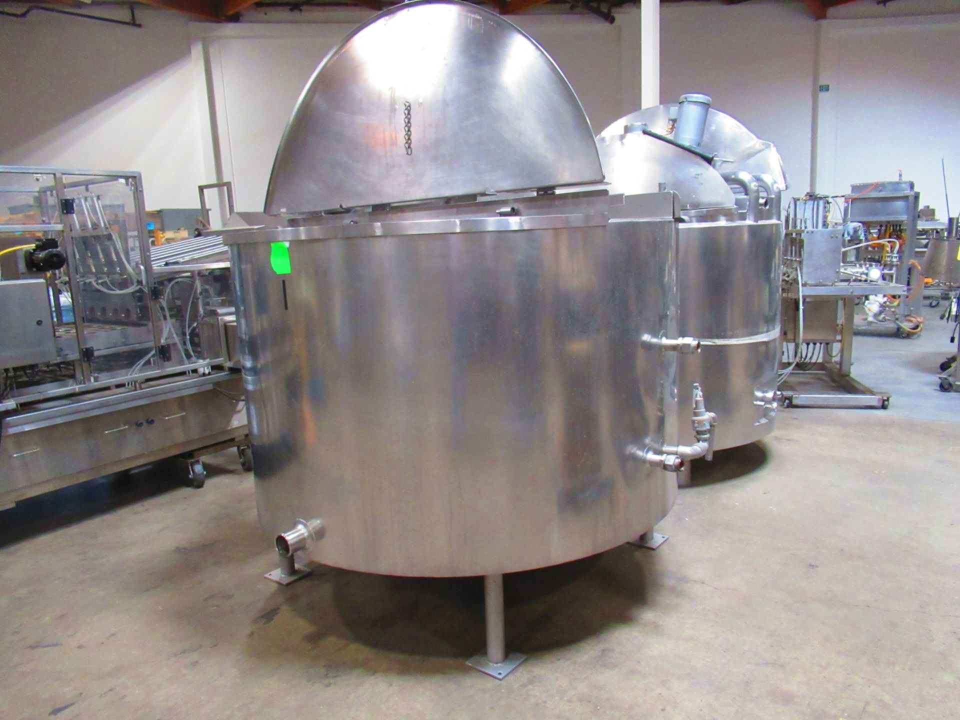 Jacketed Mix Tank - Image 2 of 4