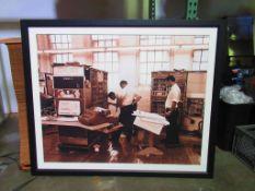 Framed Photograph