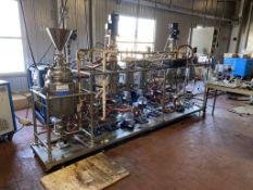 SS Wipe Film Distillation System