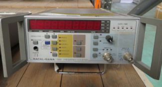 Racal-Dana 1998 Frequency Counter - Missing Power Button & Dent to Top