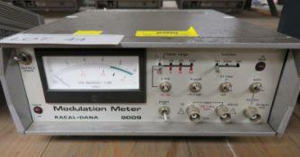 Racal-Dana 9009 Modulation Meter - No Handle