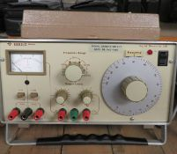 Gould J3B Signal Generator - Missing Feet