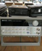 HP 33120A 15MHz Function/Arbitrary Waveform Generator - No Power Cable & Manual