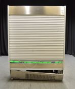 Jordao MPEM4 Slim Display Chiller with Sliding Door Cover (Seal coming away)