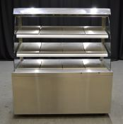 Victor RMH130E Stainless Steel Heated Display Counter