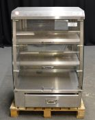 Stainless Steel Heated Display Cabinet