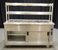 Victor SCEP16Z Mobile Bain Marie & Hot Cupboard- 240v