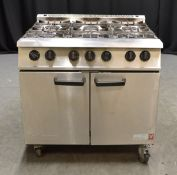 Falcon G2101EU 6 Burner Natural Gas Range Oven