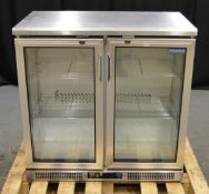 Polar Refrigeration CE206 Double Door Undercounter Refrigerator