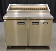 Foster FPS2HR 2 Door Refrigerated Preparation Counter