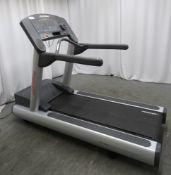 Life Fitness Flex Deck Treadmill. LED Display.
