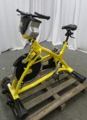 TriXter Exercise Bike. Digital Display Console.