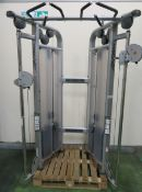 Life Fitness Model CMDAP Dual Adjustable Pulley.