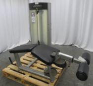 Life Fitness Model OS Frame Box Hamstring/Leg Curl.