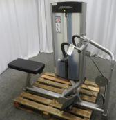 Life Fitness Model OS Frame Box Seated Row.