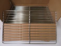 Rational 60.10.1101 stainless steel grill 32.5cm x 53cm 1/1 GN x 10.