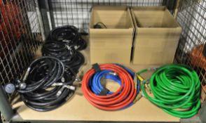 Various Air Hoses, Regulator/ Connectors