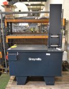 Graymills part cleaner - TRCS3626LP-B - 230V - 1ph - 3.3amps - 60hz - serial 259924