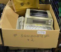 Spectra Physics Chrome Jet Integrator Printer