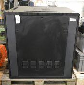 Black Metal IT Cabinet - 800 x 1000 x 1030mm