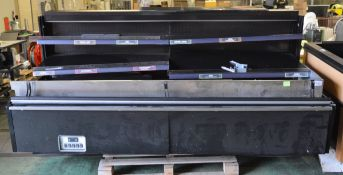 Epta Refrigeration - Gemini SO16028 Display Unit - L2590 x D1110 x H1350mm - as spares