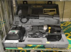 Draper Expert 14.4v Cordless Drill, Charger with Case