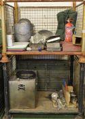Field catering kit - Cooker, Oven, Utensil kit, pots, pans